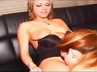 Two best friends experiment by hooking up for some lesbian sex for the first time ever, she sits right on her friends face...