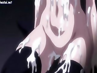 Hentai babe getting filled with cum
