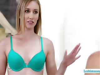 Truth or dare turns into pussy licking with the hot babes