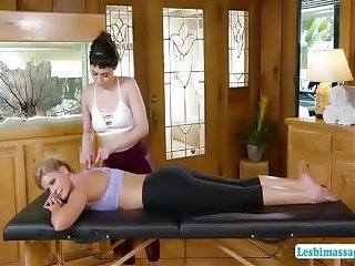India and Audrey reveres pussy licking and hot scissor sex