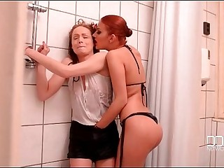 Aylin Diamond And Sophie Lynx - Lesbian Bondage Trap