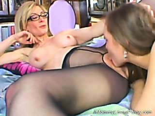Nina Hartley is the teacher!