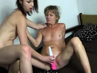 OldNannY Sexy Teen and Mature Lesbians Compilation