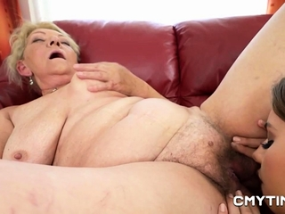 Hot Momma giving it to her stepdaughter